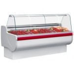 Igloo Rota 100 Meat Slimline Curved Glass Serve Over Counter
