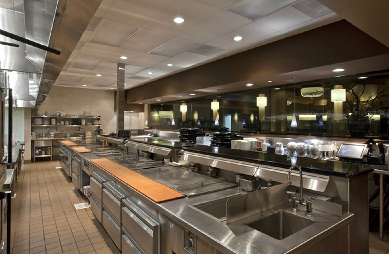 Our work visiontec enterprises ltd commercial kitchen for Professional kitchen design